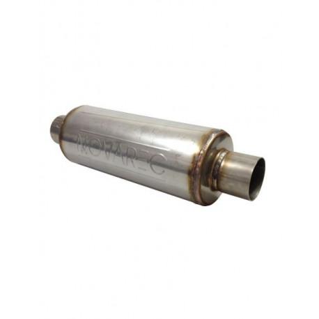 offrir des rabais plusieurs couleurs meilleure collection Silencieux d'echappement universel inox a souder pour tube diametre 70mm -  longueur 450mm - corps diametre 127mm