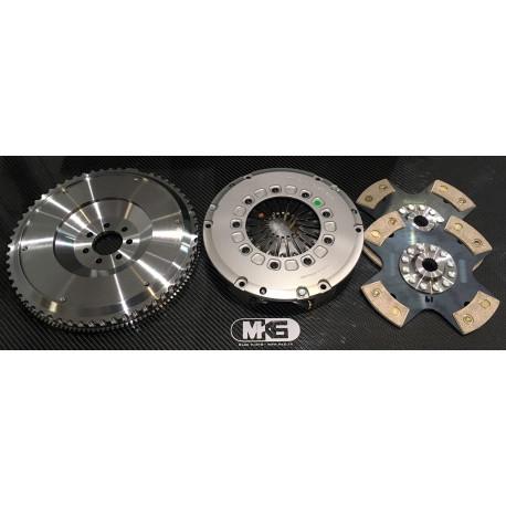 Kit embrayage Bi disque 215mm
