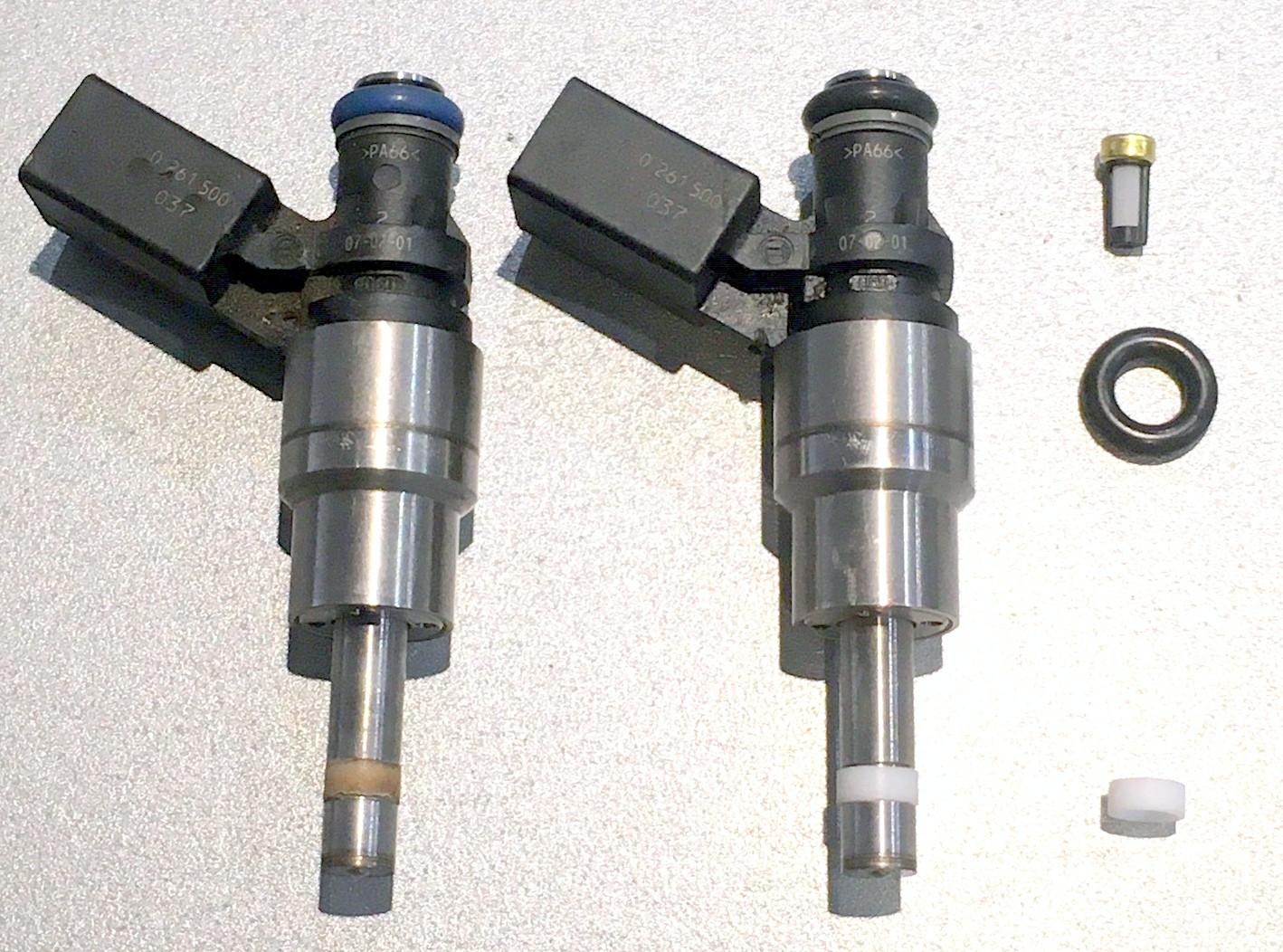 Nettoyage aux ultrasons et reconditionnement de vos injecteurs direct essence ( TFSI, TSI, THP, TCE ...)