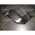 partie inferieur de prise air polyester AC SPORT pour montage 4 papillons PEUGEOT 206 F2000 S16 1.6 2.0 16V